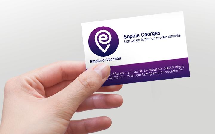 Création logo professionnel et carte de visite