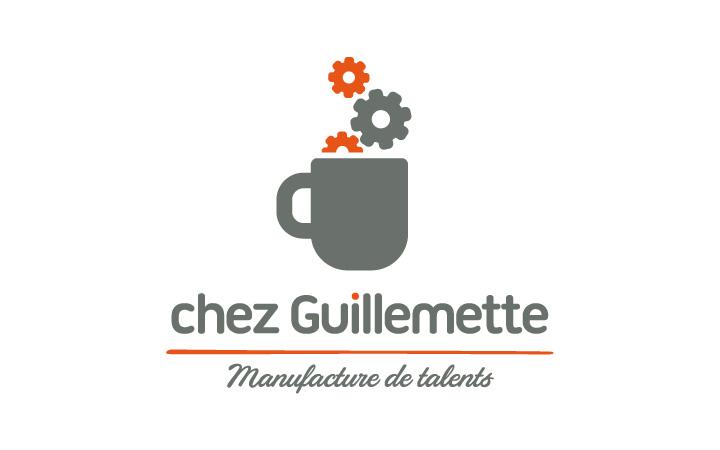 """""""Chez Guillemette"""" identité visuelle - logo"""