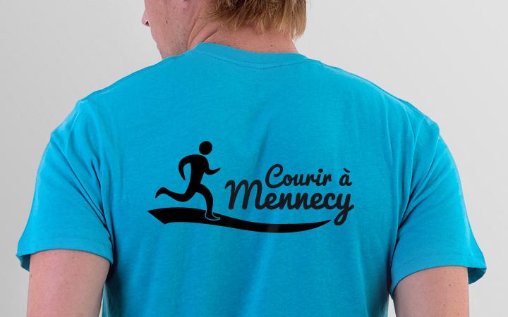 Conception de Logo Courir à Mennecy